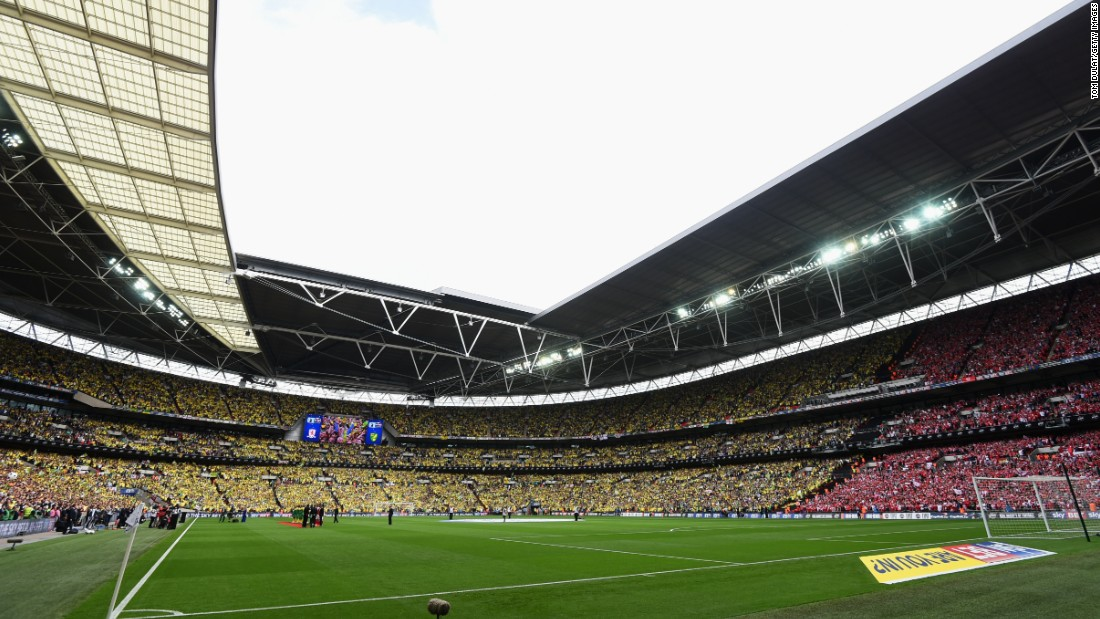 A crowd touching 90,000 attended the match which is widely regarded as one of the richest in world football given it offers entry into the lucrative English Premier League. The victors could earn as much as $200 million over the course of next season, according to accountancy firm Deloitte.