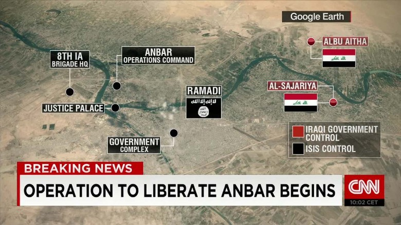 Iraq forces begin military operations in Anbar
