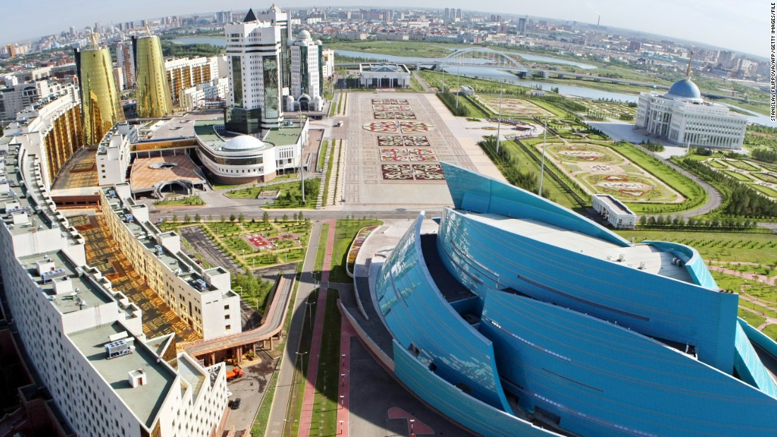 Astana is the capital of Kazakhstan. It's also the name of the country's professional road cycling team.