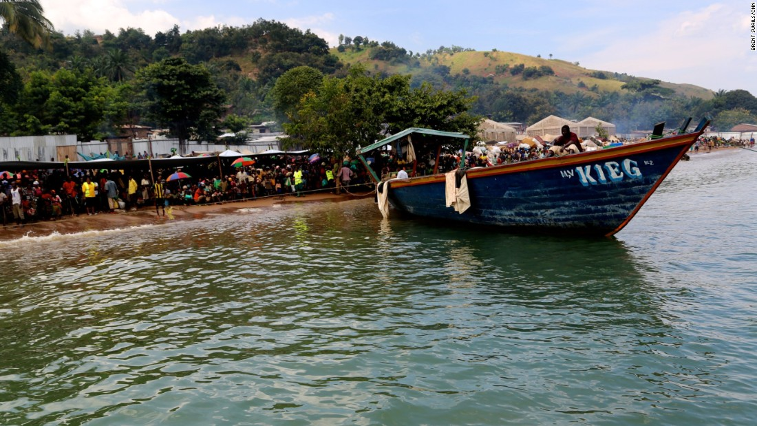 Kagunga has been transformed by Burundi's political uncertainty. A makeshift immigration center checks in refugees, who then must wait days for a boat ride to Kigoma.