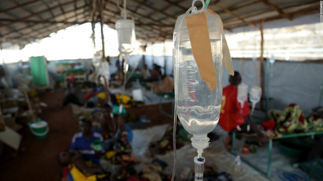 A clinic has been set up at the Kigoma transit center to counter the threat of a cholera outbreak. Doctors say it's vital to get the refugees out of Kigoma and to a more established refugee camp as soon as possible.