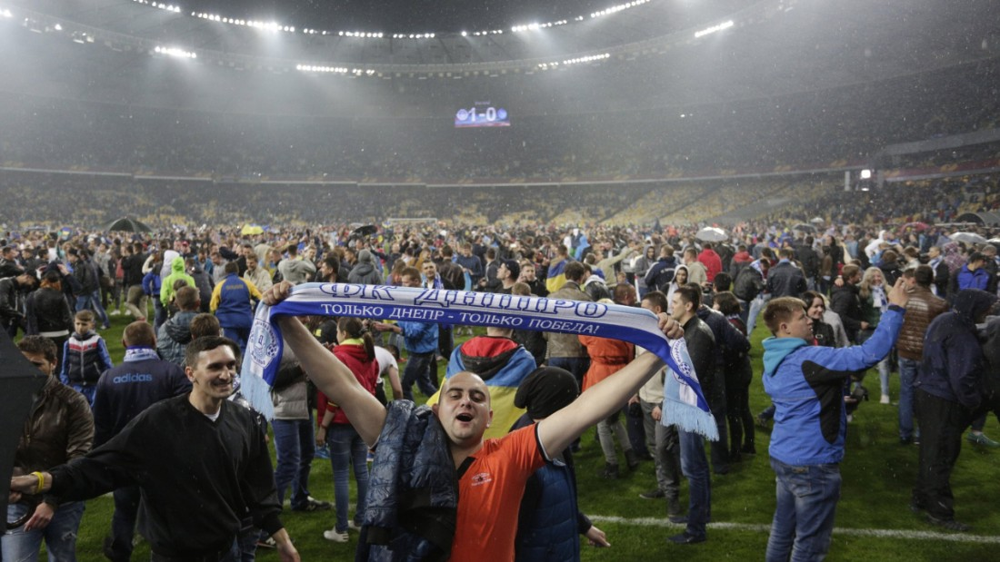 Dnipro's supporters have enjoyed a wonderful season in the Europa League with its team seeing off Napoli, Club Brugge and Olympiakos in the knockout rounds.