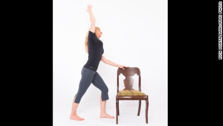 Warrior One Hip Flexor Release