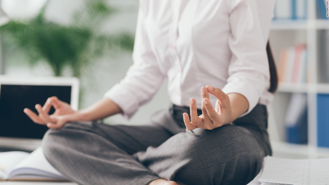 Office Yoga Zen 5 Ways To Focus And Reduce Stress Cnn