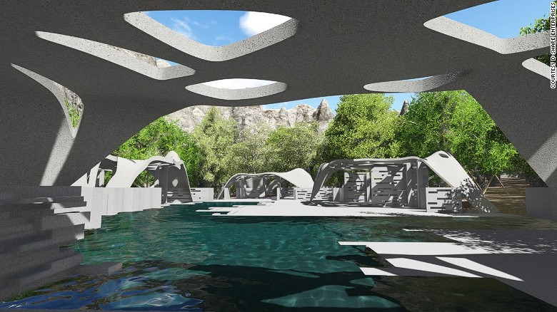 Architect designs giant 3D-printed estate - CNN on mansion house furniture, richmond interior design, mansion house bedroom, bank interior design, mansion house bathroom, temple interior design, federal architecture interior design, mansion house construction, mansion house drawing, custom home interior design, mansion house doors, mansion ideas, stratford interior design, mansion landscape design, maryland interior design, mansion dream house, mansion architecture design, mansion library design, mansion modern kitchen, mansion house kitchen,