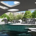 3d printed estate pool house