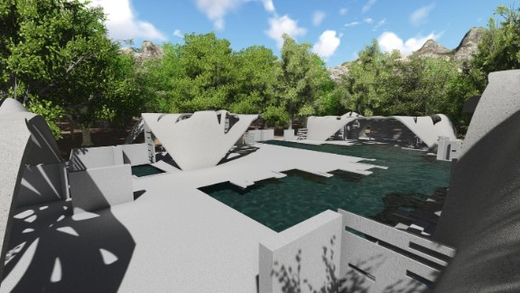 When completed in late 2017, the estate will play host to a swimming pool, car port and 2,400-square-foot house.