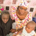 maiduguri -- woman with family