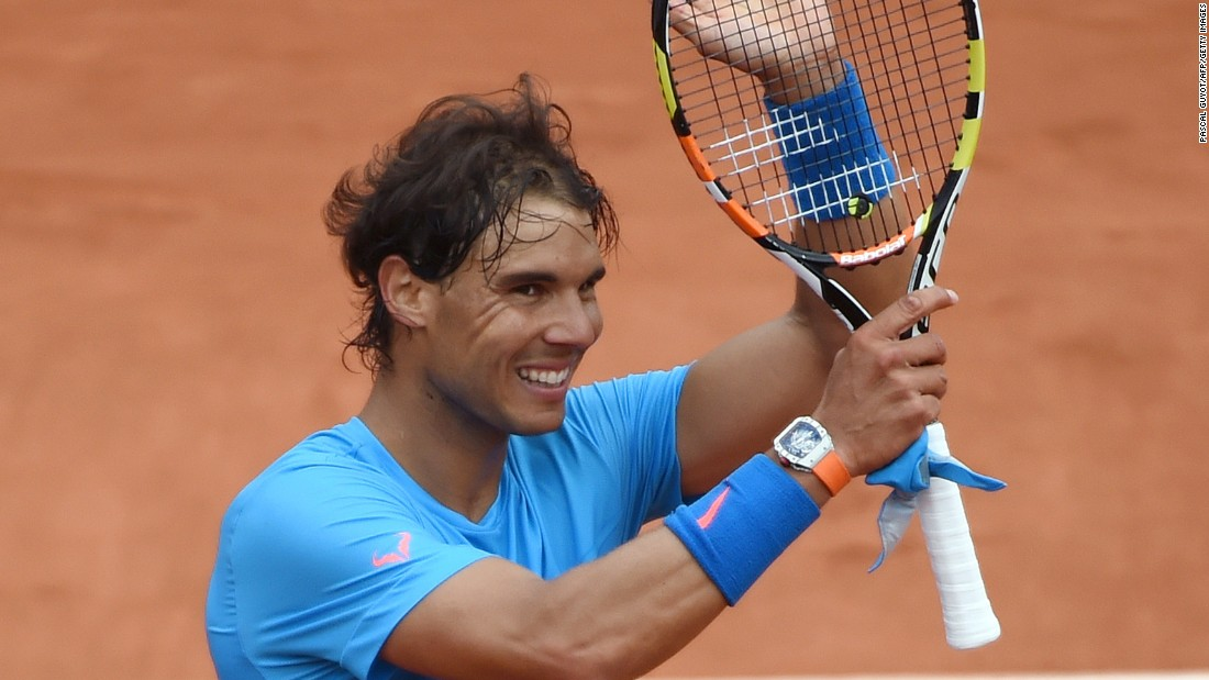 Rafael Nadal began the defense of his title at Roland Garros with a straightforward 6-3 6-3 6-4 win over French wildcard Quentin Halys.