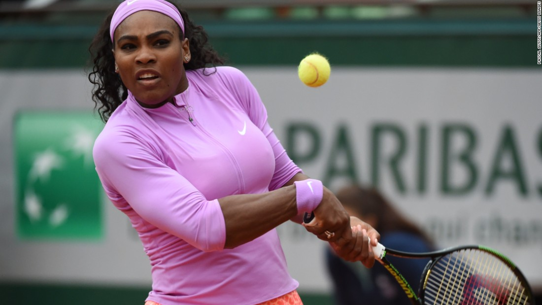 The French Open is Williams' least productive grand slam. Only two of her 19 majors have come in Paris.