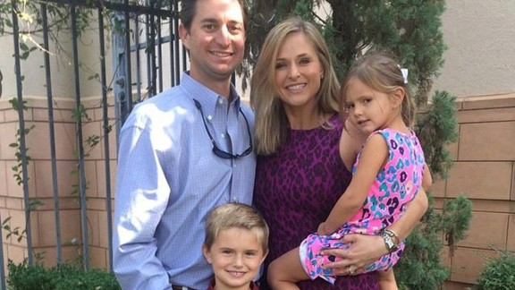 Credit: First Baptist Church, Corpus Christi/Facebook Laura McComb and her two young children are among the missing. They were near Wimberly, about 100 miles northeast of Devine on the other side of San Antonio, when raging floodwater uprooted their vacation cabin, according to CNN affiliate KXAN.