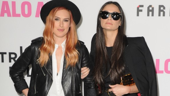 """Rumer Willis is more like her mom, actress Demi Moore, than she realized. In May, """"Dancing With the Stars"""" winner Willis posted a photo of her and her famous mother dressed alike and looking like twins."""