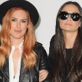 RESTRICTED demi moore rumer willis FILE