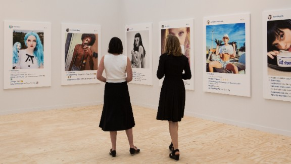 """""""New Portraits"""" was exhibited as a part of the recent Frieze Art Fair in New York."""