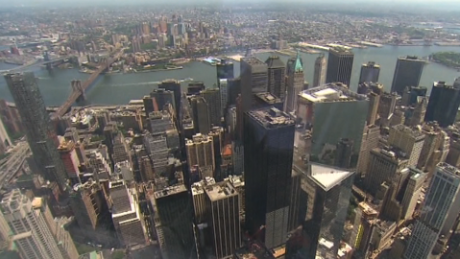 Stunning View From The Freedom Tower S Observatory Deck Cnn Video
