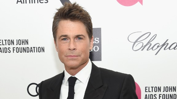 Actor Rob Lowe launched Profile, a line of cosmetics for men.