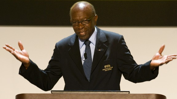 """FIFA announces it will investigate Warner (pictured), who ran the CONCACAF federation covering Central and North America, and Mohamed Bin Hammam, head of the Asian Football Confederation, over bribery allegations. It follows a report by fellow Executive Committee member Chuck Blazer alleging that they paid $40,000 worth of bribes to secure the support of members of the Caribbean Football Union.  They deny the claims, with Warner promising a """"tsunami"""" of revelations to clear his name. Bin Hammam claims the accusations are part of a plan to force him to withdraw as a candidate for FIFA"""