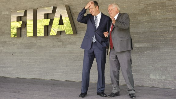 Blatter announces that former U.S. attorney Michael J Garcia and German judge Hans-Joachim Eckert (pictured) have joined FIFA to probe allegations of wrongdoing. Their first task will be to investigate a Swiss court document after an investigation into alleged illegal payments made by FIFA marketing partner ISL to former FIFA president Joao Havelange and former executive committee member Teixeira. However, they will also investigate old cases -- including the process surrounding the decision to award the 2018 and 2022 World Cups to Russia and Qatar. Meantime, Bin Hamman is again suspended over new corruption allegations by the Asian Football Confederation (AFC), which he used to lead. Bin Hammam says he is innocent but in December 2012 he resigns all his football positions after a FIFA report finds him guilty of violating the conflict of interest clauses in its Code of Ethics and bans him from all football-related activity for life.