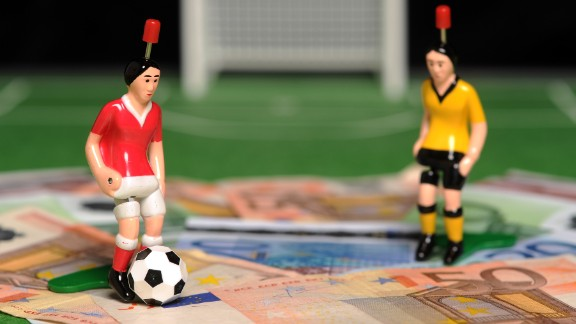 A report by police agency Europol reveals that 380 matches across Europe have been fixed by an Asia-based crime syndicate, including World Cup and European Championship qualifiers as well as the continent