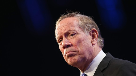 Pataki was raised in Peekskill, New York, and raised on his family's farm. In this photo, he speaks to guests gathered for the Republican Party of Iowa's Lincoln Dinner at the Iowa Events Center on May 16, 2015 in Des Moines, Iowa.