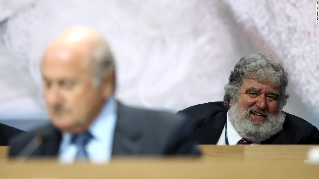 "<a href=""http://cnn.com/2013/05/06/sport/football/football-fifa-suspend-executive-committee-member-chuck-blazer/"">FIFA's Ethics Committee suspends outgoing executive committee member Blazer (pictured back right) </a>for 90 days ""based on the fact that various breaches of the Code of Ethics appear to have been committed"" by the American. Blazer is former general secretary of CONCACAF, the body which governs football in North and Central America and the Caribbean, and his suspension follows a report by its integrity committee. Blazer denies any wrongdoing."