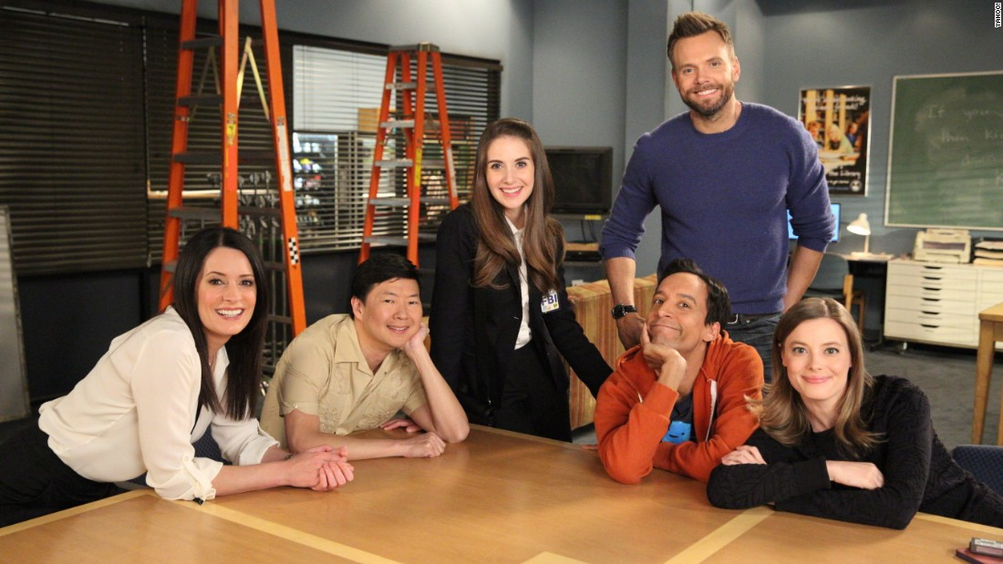 "The ""Community"" Season 6 finale begins streaming on Yahoo! Tuesday."