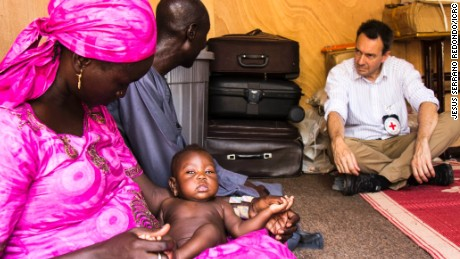 Rare visit by Red Cross chief to north east Nigeria