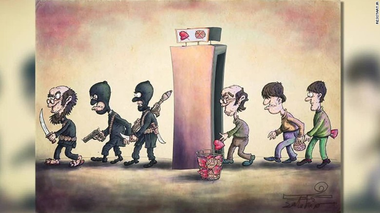 Iran Holds Cartoon Contest To Make Fun Of Isis