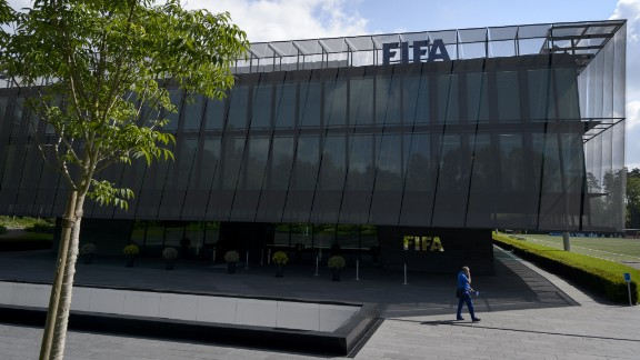 At the request of U.S. officials, Swiss authorities raid FIFA