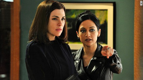 "Archie Panjabi, right, played Kalinda Sharma on ""The Good Wife."""