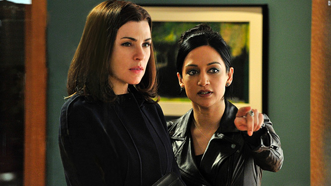 "<a href=""http://tvline.com/2015/05/15/good-wife-alicia-kalinda-finale-scene-julianna-margulies-archie-panjabi/"" target=""_blank"">TVLine reported</a> that Julianna Margulies, left, and Archie Panjabi did not actually film their final scene together on the ""Good Wife."" According to the site, body doubles and special effects were used to create the scene. There have long been rumors of tension between the pair on the set of the hit CBS drama."