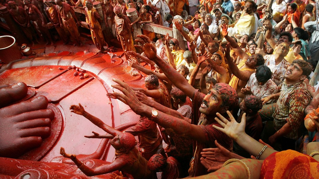 "The ""red gold"" is often used in festivals and celebrations, such as the Jain Mahamastak Abhisheka ceremony in India."