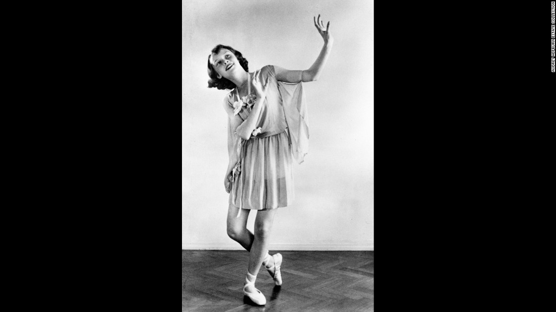 "A 13-year-old Audrey Hepburn takes part in a dance recital in 1942. Rarely seen photographs of the late actress will go on display next month at the National Portrait Gallery in London. Images from <a href=""http://www.npg.org.uk/whatson/hepburn/home.php"" target=""_blank"">""Audrey Hepburn: Portraits of an Icon""</a> come from the personal collection of her sons, Sean Hepburn Ferrer and Luca Dotti. This is one of the exhibition's earliest photos, revealing the actress' first ambition -- ballet."
