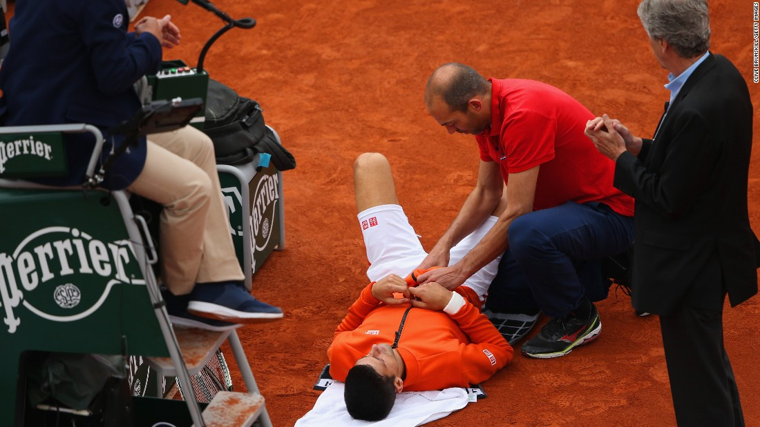Nadal is on a collision course with world No. 1 Novak Djokovic in the quarterfinals. Djokovic won in straight sets, too, but the big news from his match was the Serb taking a medical timeout for a leg problem.