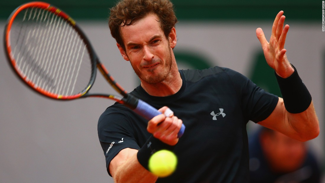 Andy Murray became the first member of the Big Four to drop a set. But the Scot cruised in the final set to prevail 6-2 4-6 6-4 6-1 against Joao Sousa.