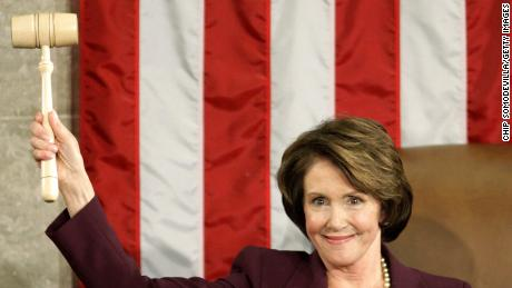 California Representative Nancy Pelosi is the first — and only — female Speaker of the House and  her speakership lasted from Jan. 4th 2007 to January 3, 2011. Pelosi, a Democrat, lost her seat to the Republican majority in 2010, handing her seat to the current speaker, Rep. John Boehner.