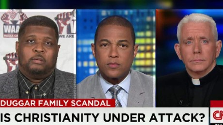 What is the role of Christianity in the Duggar scandal?