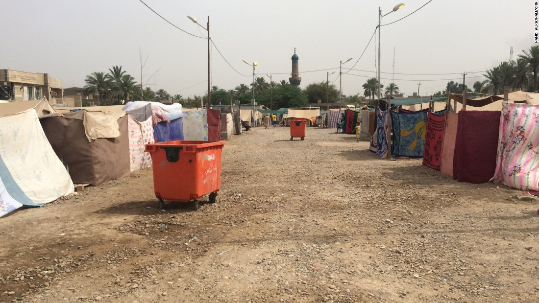 Refugees at the camp are hopeful to return to Anbar province soon, but there is reluctant acceptance of the probability that they are in for a long stay.