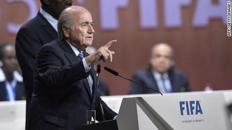 Sepp Blatter: 'I'm not perfect, nobody's perfect'