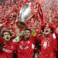 Liverpool Champions League trophy