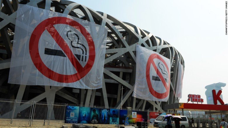 Indoor smoking ban goes into effect in Beijing