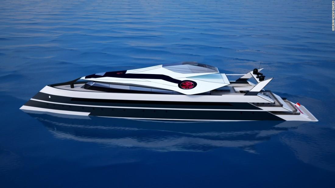 The Sleek Monaco 2050 Yacht As Envisioned By Russian Designer Vasily Klyukin