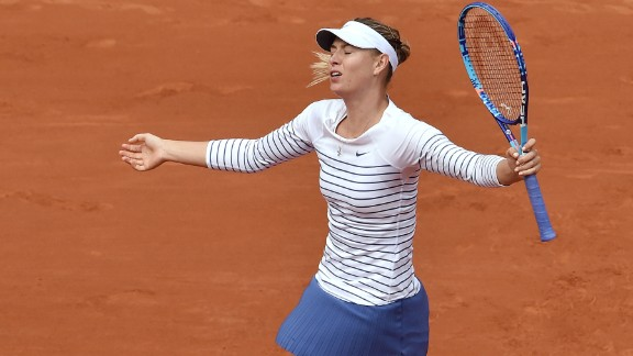 Defeated in the fourth round, it was Sharapova's earliest exit at Roland Garros since 2010.