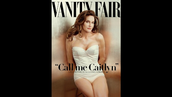 Vanity Fair unveiled its Jenner cover shot by famed photographer Annie Leibovitz in June.