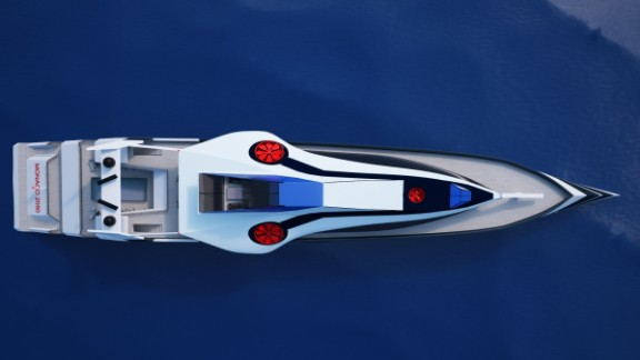 Although there are no plans to build or further investigate the feasibility of the Monaco 2050, Klyukin hopes to inspire other yacht designers and manufacturers to consider the possibilities of such a vessel.