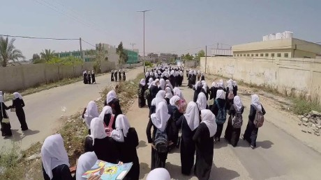gaza school girls walk home drone natpkg_00001018.jpg