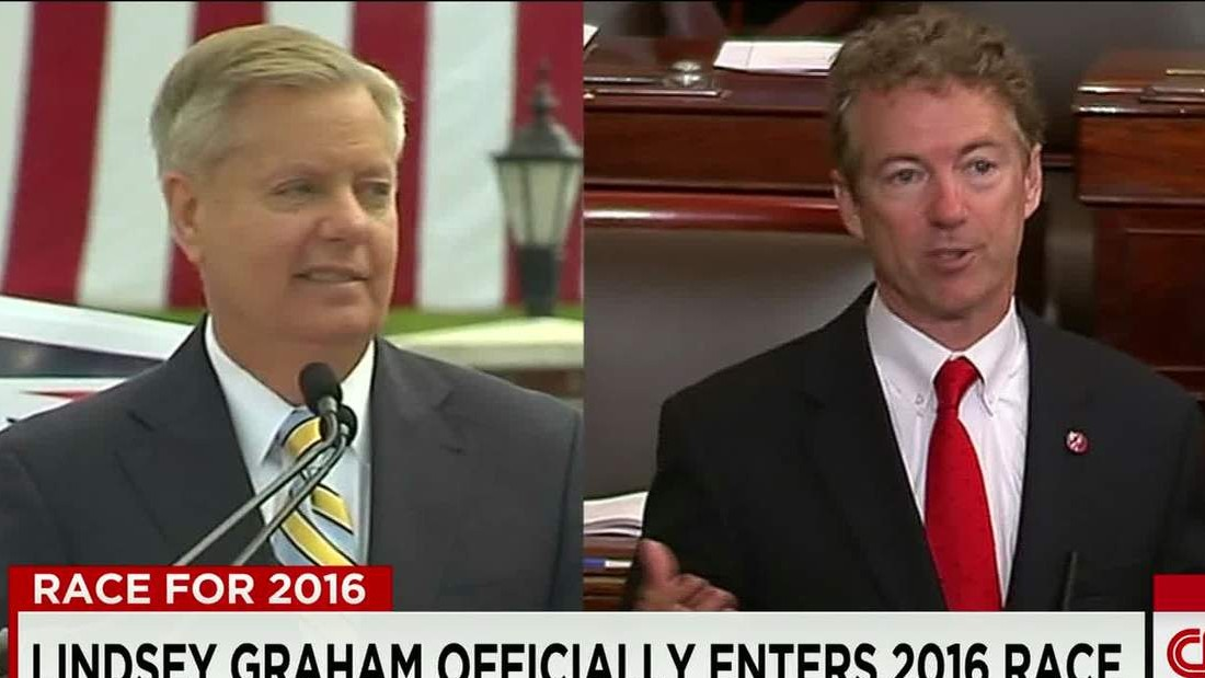 Rand Paul calls Lindsey Graham 'a danger' for floating military use authorization for NK