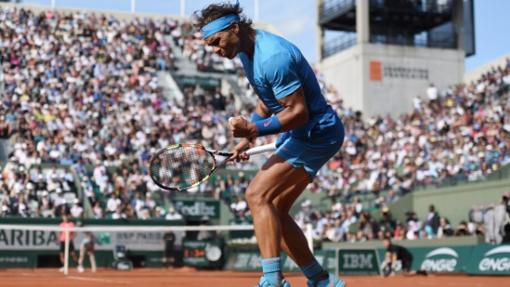 In the men's draw, Rafael Nadal and Novak Djokovic set up a blockbuster quarterfinal. Nadal beat American Jack Sock in four sets. Nadal lost his first set of the tournament.