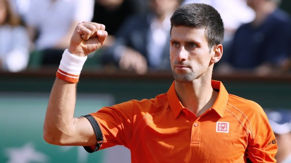 Djokovic remains unblemished. He routed home hope Richard Gasquet in straight sets. He'll try to beat Nadal at the French Open for the first time.