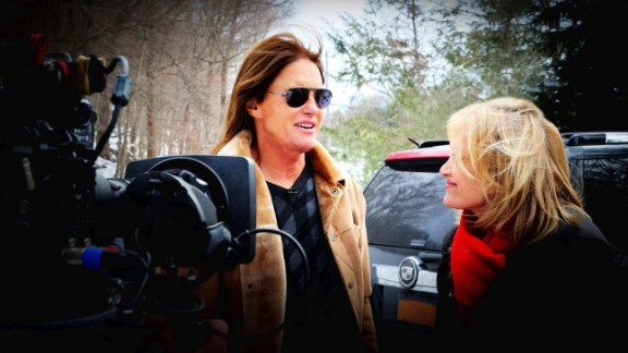"""In April, Jenner sat down for <a href=""""http://money.cnn.com/2015/04/24/media/bruce-jenner-interview-diane-sawyer/index.html"""">an interview with Diane Sawyer</a> to reveal that the former Olympian has the """"soul of a female."""""""